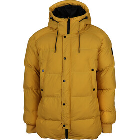 North Bend Puff Jacket Men yellow dijon